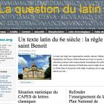 La Question du Latin