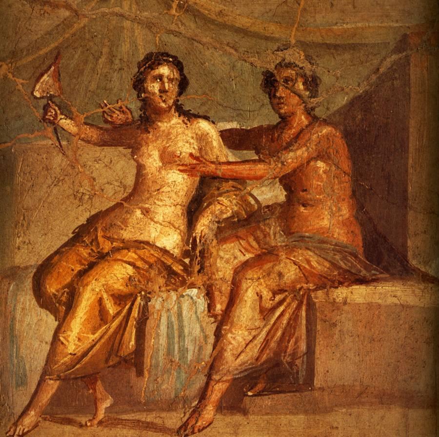 Les Mystères Des Fresques De Pompéi Les Amies Du Boudoir
