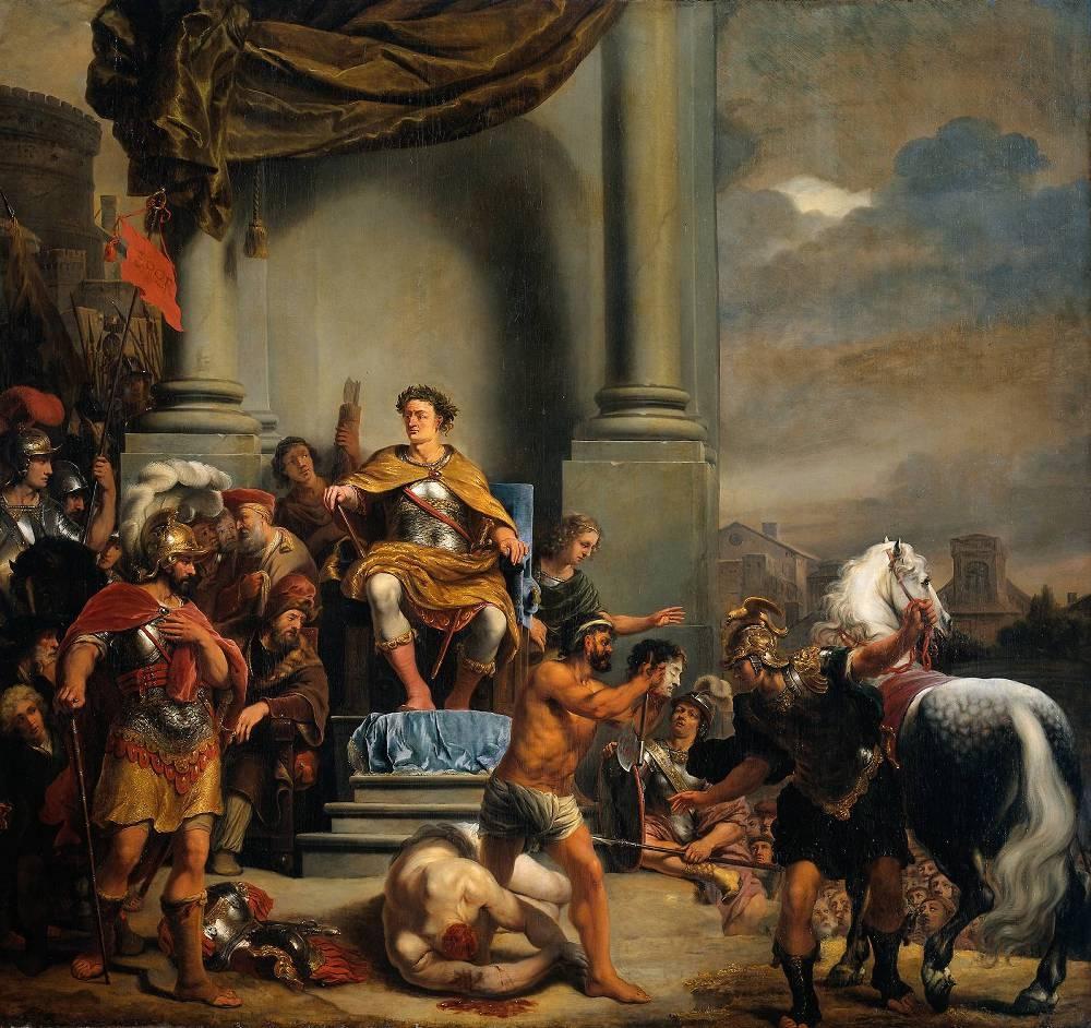bol ferdinand 1616 1680 le consul titus manlius torquatus decapitant son fils jpg. Black Bedroom Furniture Sets. Home Design Ideas