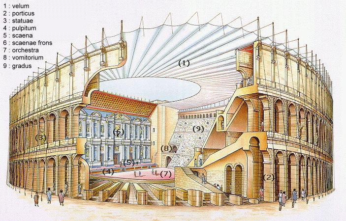 Theatre romain en coupe legende jpg - Theatre de la coupe d or ...