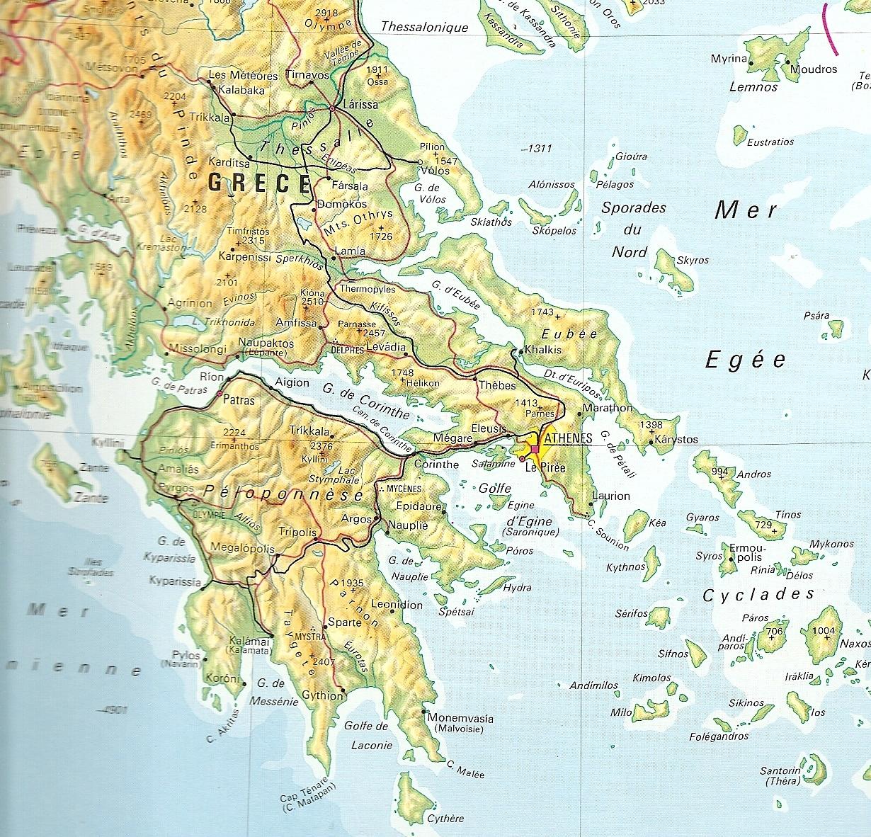 Cr 232 Te Tourisme Carte