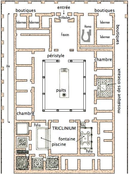 Plan maison avec patio une maison avec patio inspire par for Plan maison patio
