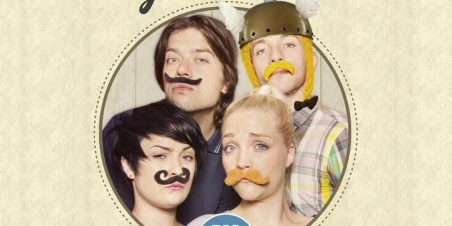 Affiche pour la journée de la moustache, 30 juin 2013, Parc Asterix