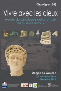 Vivre avec les dieux, Autour du sanctuaire gallo-romain du Gué-de-Sciaux @ Donjon de Gouzon  | Chauvigny | Poitou-Charentes | France