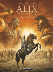 Alix Sénator - #04 : Les Démons de Sparte