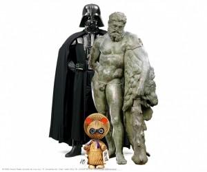 MUSÉE DU LOUVRE • Mythes fondateurs : d'Hercule à Dark Vador