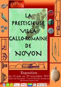 La prestigieuse villa gallo-romaine de Noyon @ Musée du Noyonnais  | Noyon | Picardie | France
