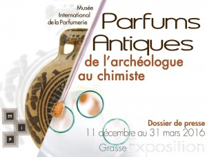 Parfums Antiques, de l'archéologue au chimiste @ MUSÉE INTERNATIONAL DE LA PARFUMERIE | Grasse | Provence-Alpes-Côte d'Azur | France