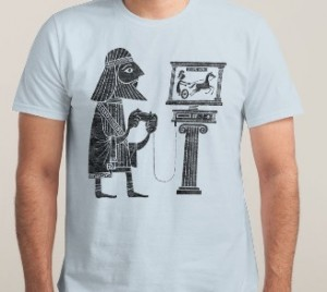 "Tee-Shirt ""Classic Gamers"""
