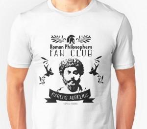 "Tee Shirt ""Roman Philosophers fan club"""