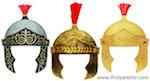 Un casque romain (à imprimer) et à monter soi-même