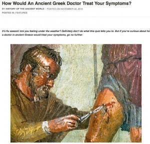 Test : Quels traitements un médecin grec prescrirait-il face à vos symptômes ?