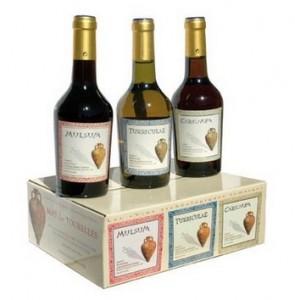 Coffret de dégustation de vin romain