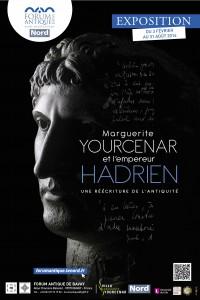 Marguerite Yourcenar et l'empereur Hadrien, une réécriture de l'Antiquité @ Forum Antique de Bavay | Bavay | Nord-Pas-de-Calais | France