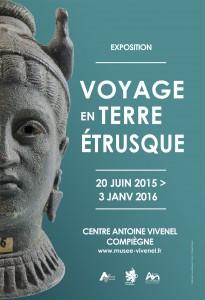 Voyage en terre étrusque @ Centre Antoine Vivenel | Compiègne | Picardie | France
