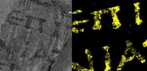 Sciences & Avenir / Le secret de plomb des papyrus d'Herculanum