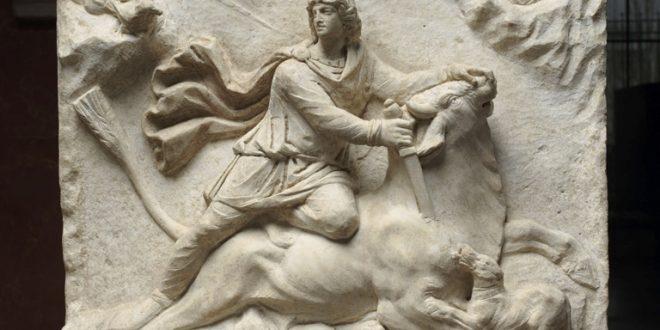 La visite du Louvre : Relief Mithriaque de la Tauroctonie