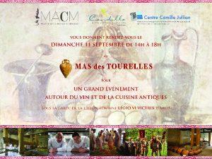 Vin et cuisine romaine au Mas des Tourelles @ Mas des Tourelles   Beaucaire   Languedoc-Roussillon Midi-Pyrénées   France