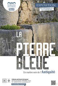 La pierre bleue : marbre noir de l'antiquité à Bavay @ musée archéologique  | Bavay | Nord-Pas-de-Calais Picardie | France