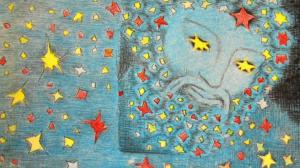 màj - La création du monde (mise en images et transcription du récit de Claudie Obin)