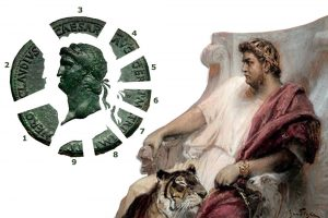 Comment lire une pièce de monnaie antique?