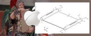 Apple dépose un brevet d'écran qui nous fait penser aux rouleaux antiques