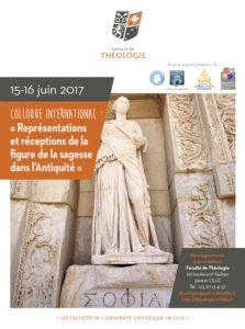 Colloque international sur la figure de la sagesse dans l'Antiquité @ Lille - Faculté de Théologie | Lille | Hauts-de-France | France