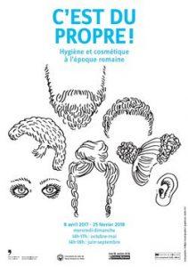 C'EST DU  PROPRE  ! Hygiène et cosmétique  à l'époque romaine @  Musée Romain de Vallon | Vallon | Fribourg | Suisse