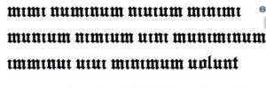 mimi numinum niuium minimi munium nimium uini muniminu imminui uiui minimum volunt