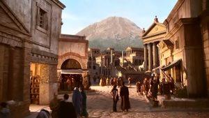"""Doctor Who / """"Quand tu es à Pompéi et que tu essayes de parler comme les Romains..."""""""