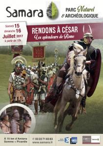 Rendons à César ! Les splendeurs de Rome @ Samara | La Chaussée-Tirancourt | Hauts-de-France | France