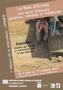 Le bois d'Ormes, une terre d'histoire gauloise, romaine et médiévale @ La Maison de la Polyculture, Ormes | Ormes | Centre-Val de Loire | France