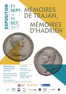 Mémoires de Trajan, Mémoires d'Hadrien @ hall de la Bibliothèque universitaire de Lille SHS (Métro Pont-de-Bois) | Villeneuve-d'Ascq | Hauts-de-France | France