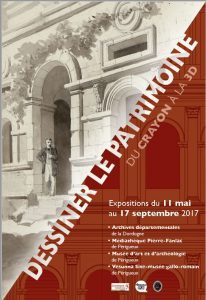 DESSINER LE PATRIMOINE, DU CRAYON À LA 3D @ VESUNNA | Périgueux | Nouvelle-Aquitaine | France