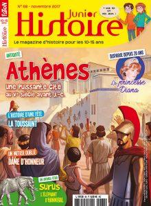 Histoire junior #68 - Athènes, une puissante cité au Ve siècle avant J.-C.