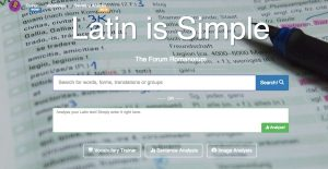 Outil d'analyse d'un texte latin : Latin is Simple