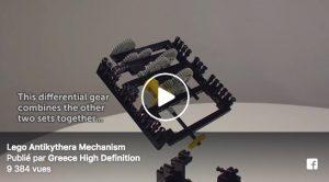La machine d'Anticythere en Lego !