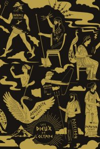 Poster Les Dieux de l'Olympe