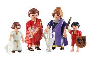 Famille romaine Playmobil