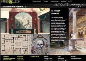 Passerelles BNF / La maison romaine