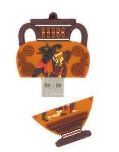 Clé USB vase grec