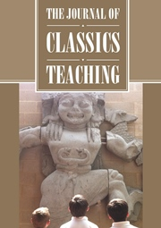 « The Journal of Classics Teaching »  Le Volume 18 N°36