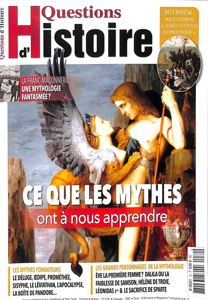 Questions d'histoire #30 - Ce que les mythes ont à nous apprendre