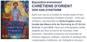 CHRÉTIENS D'ORIENT 2000 ANS D'HISTOIRE @ MUba Eugène Leroy | Tourcoing | Hauts-de-France | France