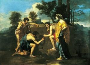 1ePoussin, Les Bergers d'Arcadie (Et in Arcadia ego) 1637