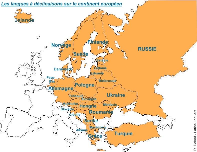 Carte Europe Latine.Presenter Les Langues Et Cultures De L Antiquite Aux Eleves