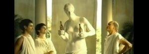 (2008) Budweiser : la Vénus de Milo et la bière !
