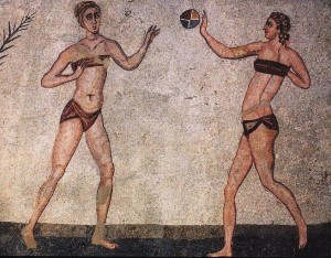 Insolite : Mon tout petit bikini...de l'Antiquité