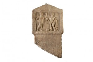 Greek relief from the National Archaeological Museum in Athens goes on view at the Getty Villa