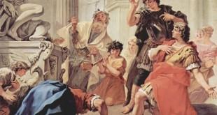 Brutus embrassant la terre, Sebastiano Ricci (1659-1734)